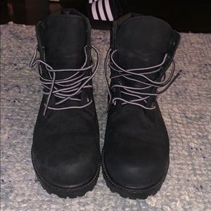 Black Timbs size 6 brand new